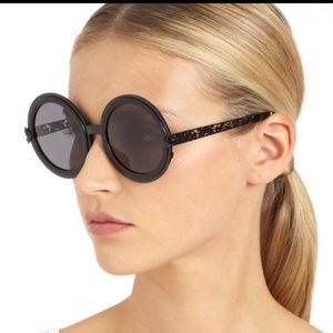 Karen Walker filigree peek-a-boo sunglasses